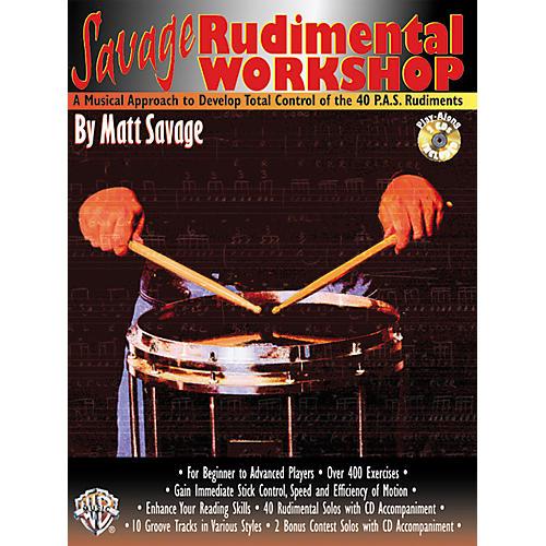 Alfred Savage Rudimental Workshop (Book/CD)