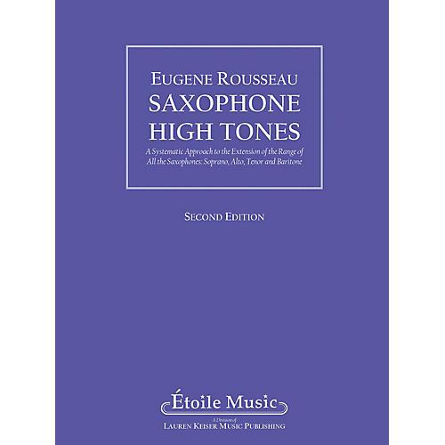 Lauren Keiser Music Publishing Saxophone High Tones LKM Music Series