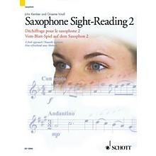 Schott Saxophone Sight-Reading 2 (A Fresh Approach) Schott Series Book
