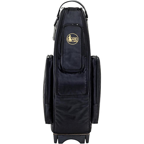 Gard Saxophone Wheelie Bag in Synthetic with Leather Trim
