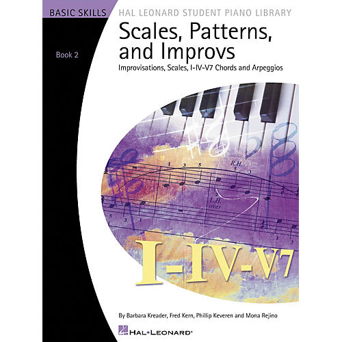 Hal Leonard Scales Patterns And Improvs - Book 2