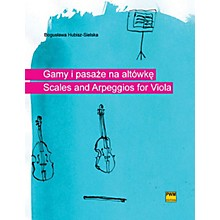 PWM Scales and Arpeggios for Viola (Gamy i pasaze na altowke) PWM Series Softcover