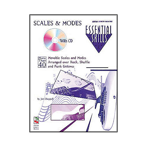 Hal Leonard Scales and Modes by Jon Chappell (Book and CD Package)
