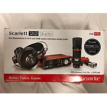 Focusrite Scarlet 212 Studio Audio Interface