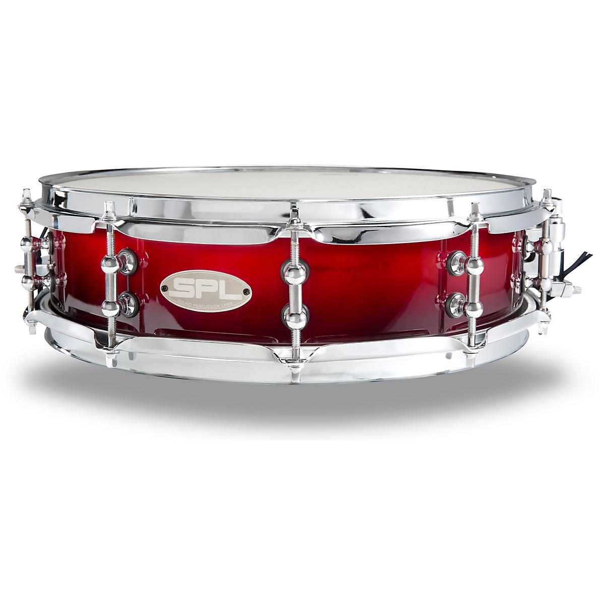 Sound Percussion Labs Scarlet Fade Lacquer Snare Drum
