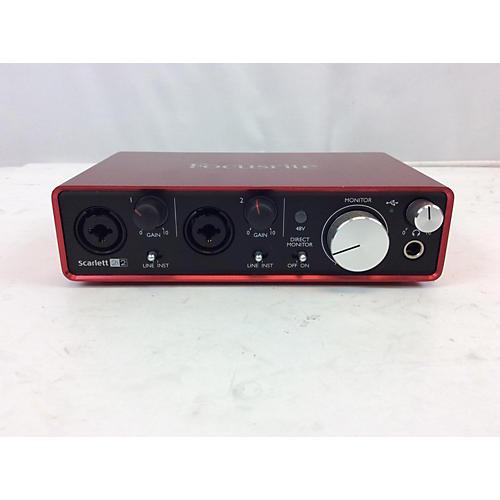 Focusrite Scarlet 2i2 : used focusrite scarlett 2i2 gen 2 audio interface guitar center ~ Russianpoet.info Haus und Dekorationen