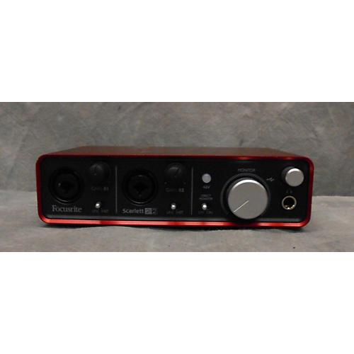 used focusrite scarlett 2i2 usb first gen audio interface guitar center. Black Bedroom Furniture Sets. Home Design Ideas