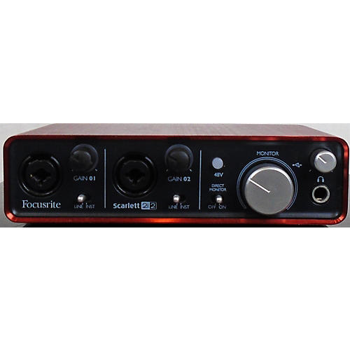 used focusrite scarlett 2i2 usb gen 1 audio interface guitar center. Black Bedroom Furniture Sets. Home Design Ideas