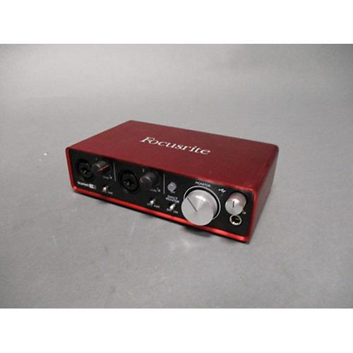 used focusrite scarlett 2i2 usb gen 2 audio interface guitar center. Black Bedroom Furniture Sets. Home Design Ideas