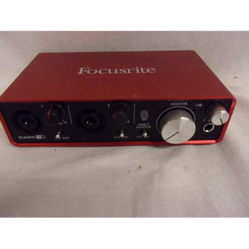 Focusrite Scarlett 2i2 USB MK2 Audio Interface