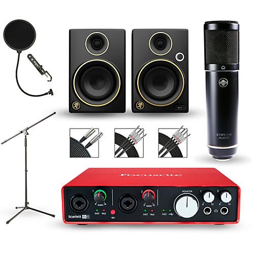 Focusrite Scarlett 6i6 Recording Package With Sterling