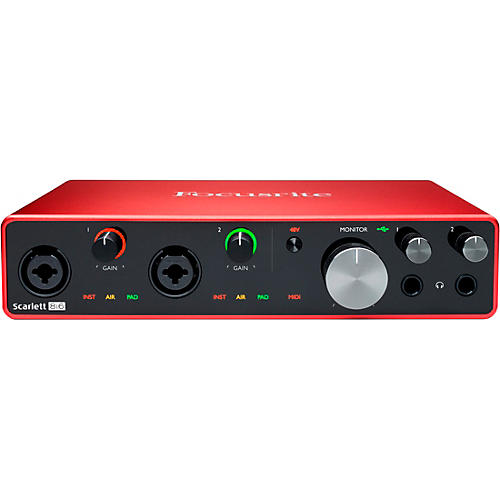 Focusrite Scarlett 8i6 USB Audio Interface (Gen 3)