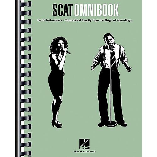 Hal Leonard Scat Omnibook for Vocalists and B-Flat Instruments