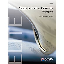 Anglo Music Scenes from a Comedy (Grade 5 - Score Only) Concert Band Level 5 Composed by Philip Sparke