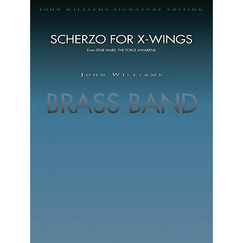 Hal Leonard Scherzo For X-wings (from Star Wars: The Force Awakens) - (brass Band) Full Score Concert Band