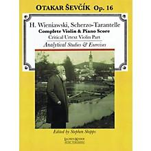 Lauren Keiser Music Publishing Scherzo-Tarantelle LKM Music Series Softcover Written by Otakar Sevcik