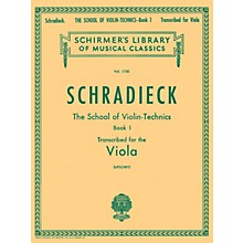 G. Schirmer School of Violin Technics, Op. 1 - Book 1 String Method Composed by Henry Schradieck Edited by Samuel Lifschey