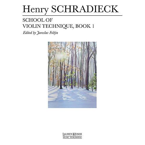 Lauren Keiser Music Publishing School of Violin Technique - Book 1 LKM Music Series