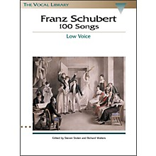 Hal Leonard Schubert - 100 Songs for Low Voice (The Vocal Library Series)