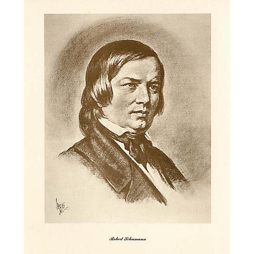 Music Sales Schumann (Lupas Small Portrait Poster) Music Sales America Series