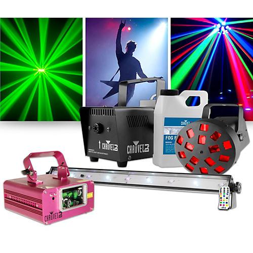 CHAUVET DJ Scorpion Dual Laser Restock with JAM Pack Diamond Lighting Package
