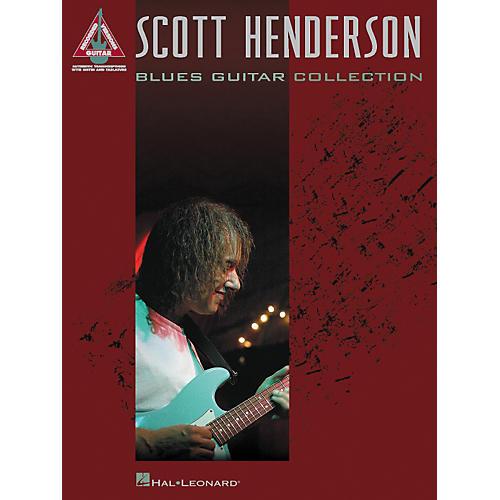 Hal Leonard Scott Henderson Blues Guitar Collection Guitar Tab Songbook