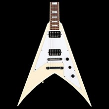 Jackson Scott Ian King V KVT Electric Guitar Ivory