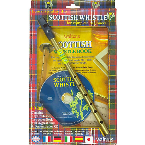 Waltons Scottish Tin Whistle CD Pack