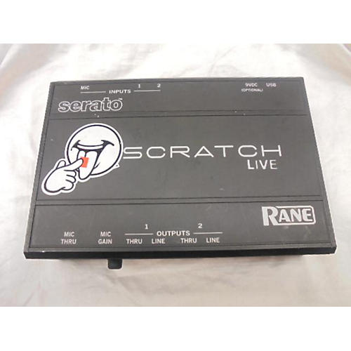 Rane Scratch Live DJ Controller