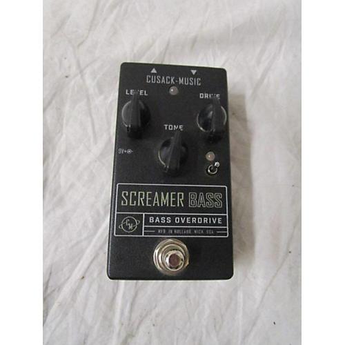 Cusack Screamer Bass Overdrive Effect Pedal
