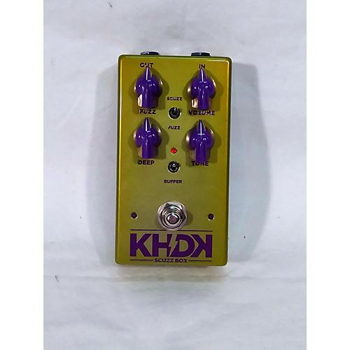 KHDK Scuzzbox Effect Pedal