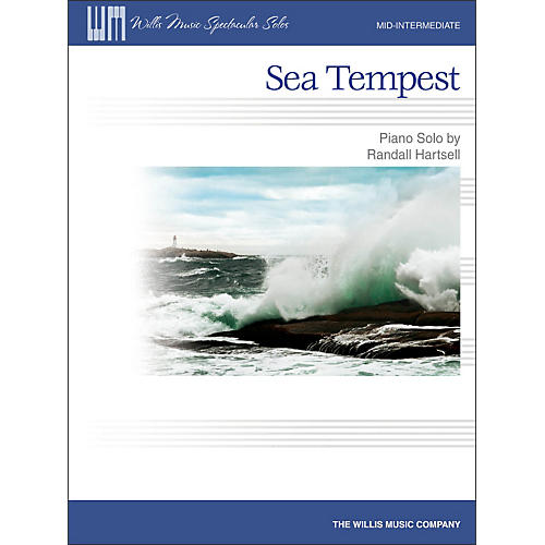 Willis Music Sea Tempest - Mid-Intermediate Piano Solo Sheet