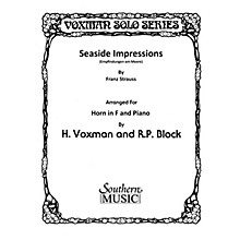 Southern Seaside Impressions (Horn) Southern Music Series Arranged by Himie Voxman