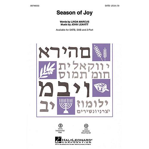 Hal Leonard Season of Joy ShowTrax CD Composed by John Leavitt
