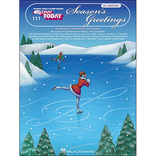 Hal Leonard Season's Greetings E-Z Play 111