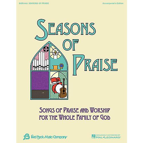 Fred Bock Music Seasons of Praise - Accompanist's Edition Accompaniment Edition