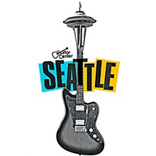 Guitar Center Seattle Guitar Needle Graphic Sticker
