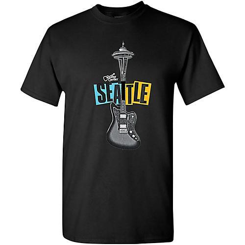Guitar Center Seattle Guitar Needle Graphic T-Shirt