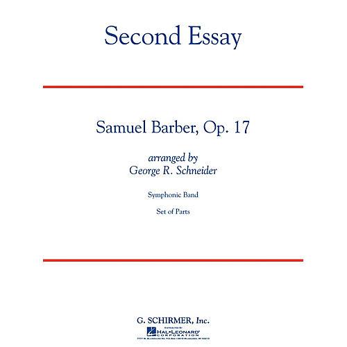 G. Schirmer Second Essay Concert Band Level 5 Composed by Samuel Barber