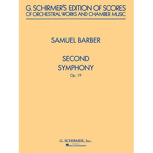 G. Schirmer Second Symphony, Op. 19 (Study Score) Study Score Series Composed by Samuel Barber
