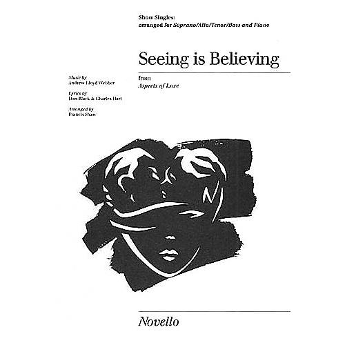 Novello Seeing Is Believing Show Singles SATB