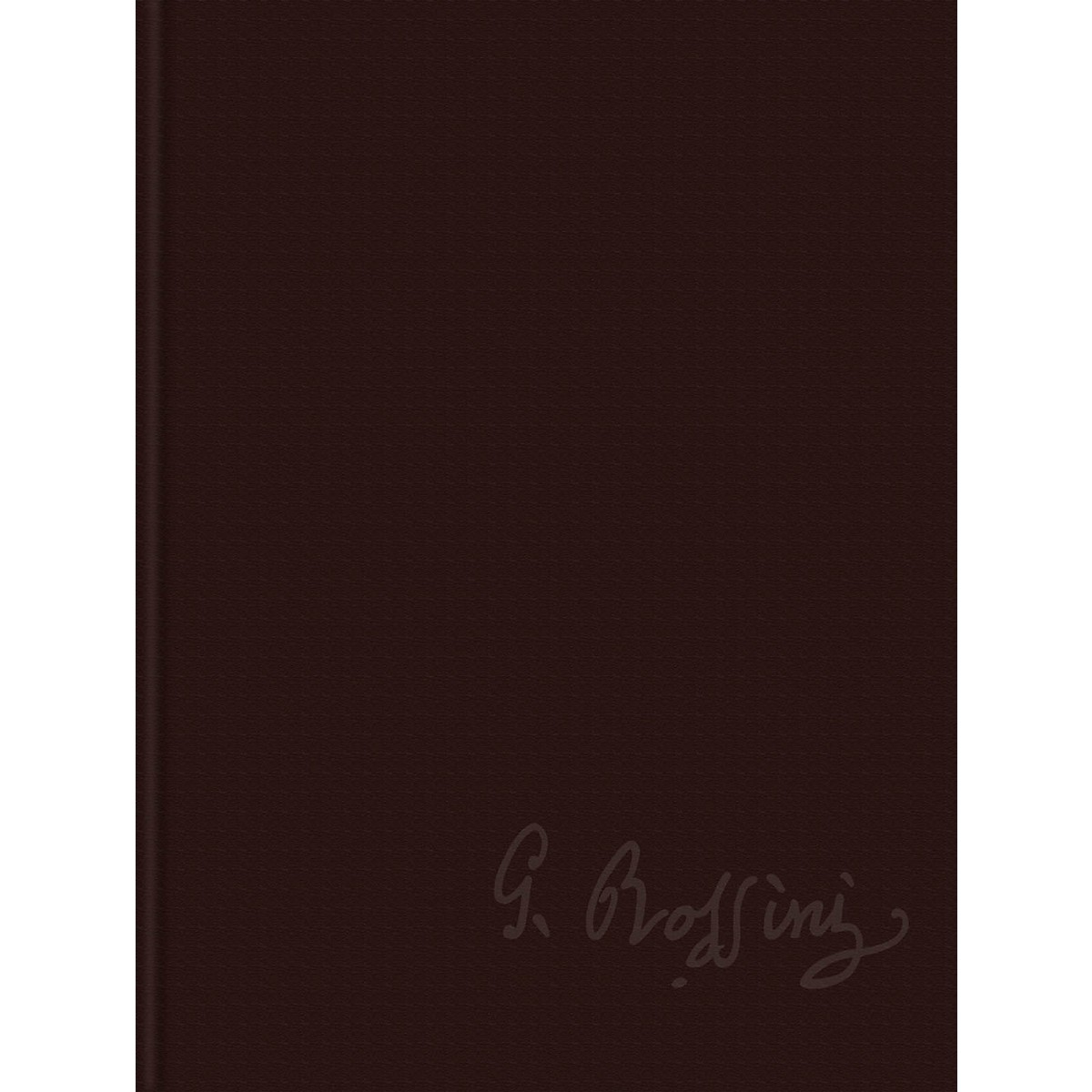 Ricordi Sei Sonate a Quattro Rossini Critical Edition Series VI, Vol. 4 Score and Parts Hardcover by Rossini