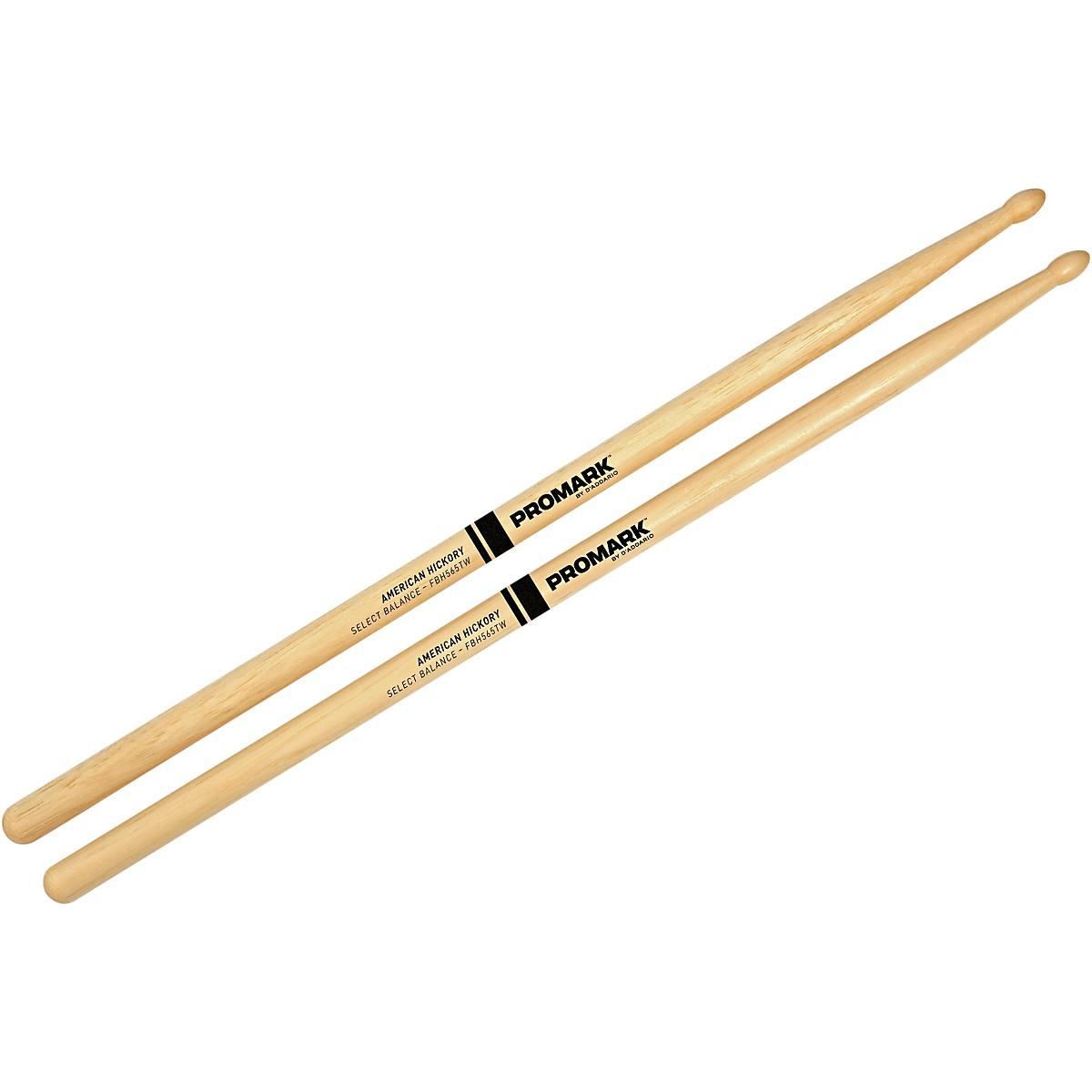 Promark Select Balance Forward Balance Wood Tip Drumsticks