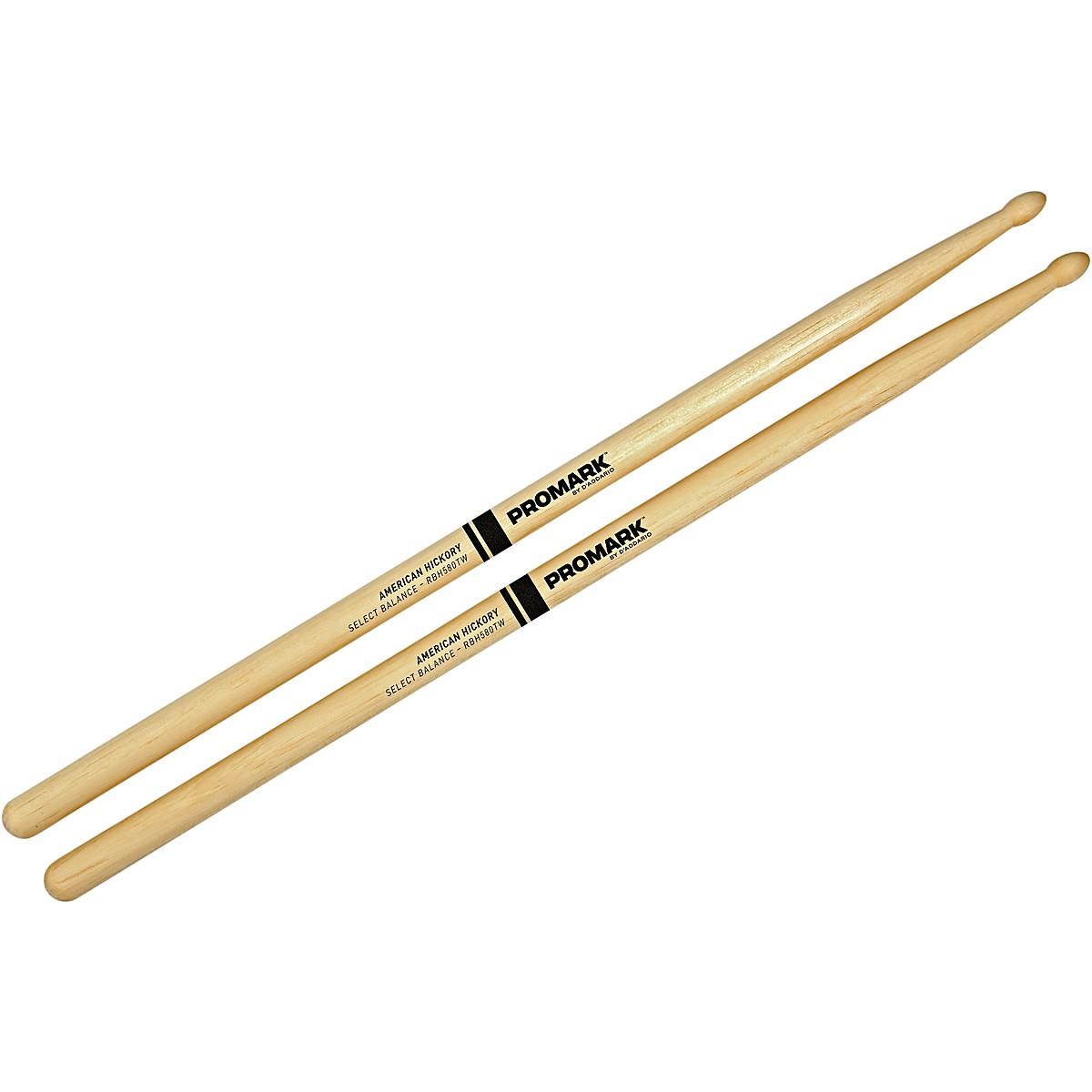 Promark Select Balance Rebound Balance Wood Tip Drumsticks