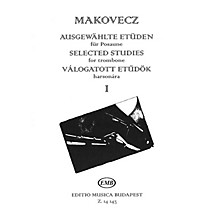 Editio Musica Budapest Selected Studies - Volume 1 (for Trombone) EMB Series