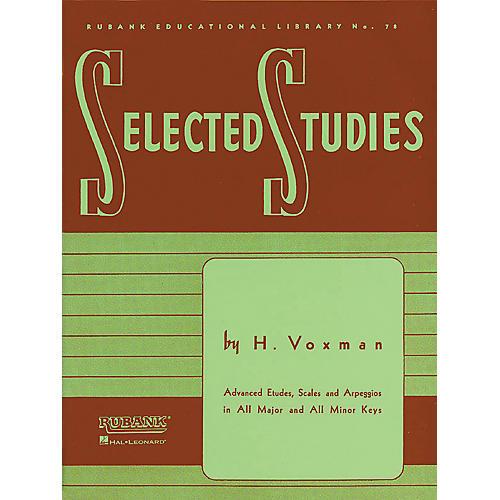 Hal Leonard Selected Studies For Clarinet