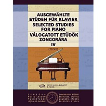 Editio Musica Budapest Selected Studies V4-pno EMB Series by Various