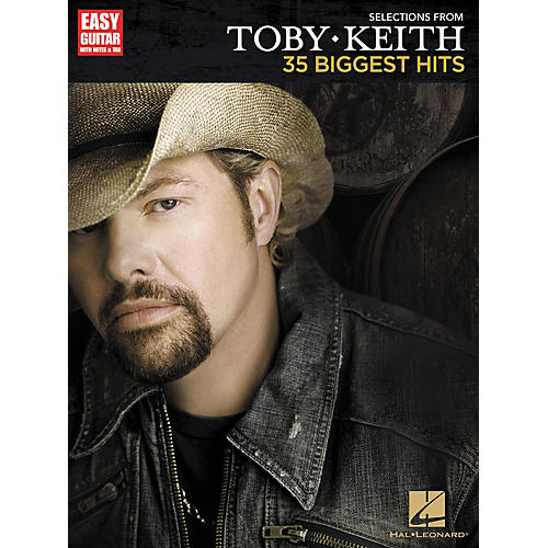 Hal Leonard Selections From Toby Keith: 35 Biggest Hits - Easy Guitar Songbook