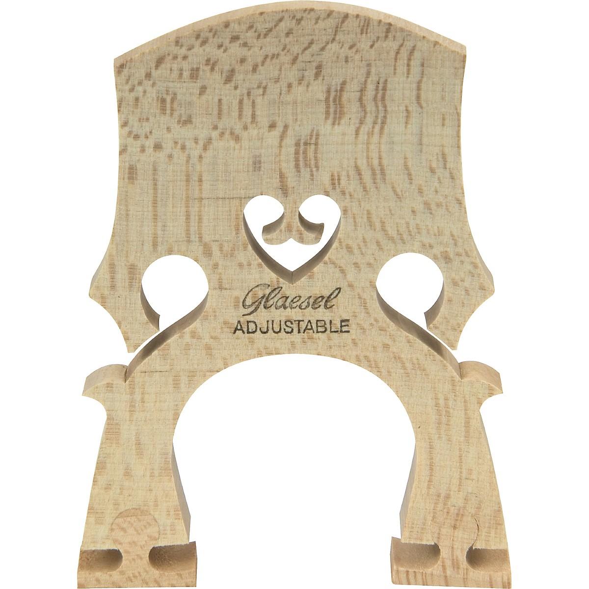 Glaesel Self-Adjusting 1/4 Cello Bridge