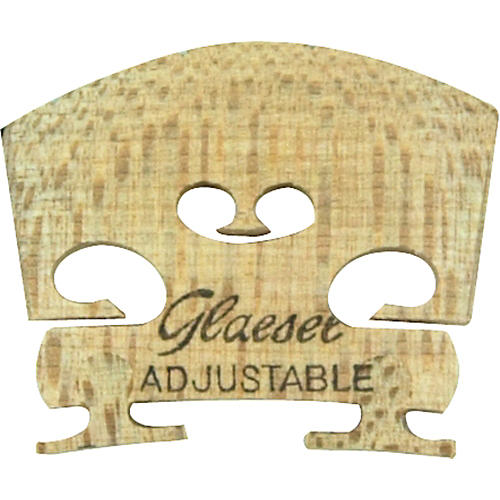 Glaesel Self-Adjusting 1/4 Violin Bridge